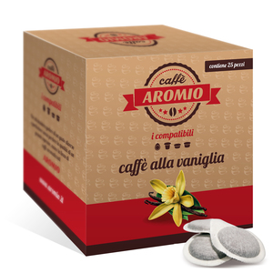25 CIALDE CAFFE' AROMATIZZATO ALLA VANIGLIA