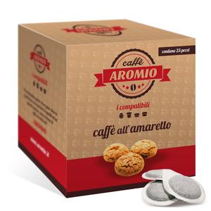 25 CIALDE CAFFE' AROMATIZZATO ALL'AMARETTO