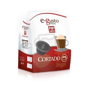 POP CAFFE CAPSULE E- GUSTO  CORTADO  COMPATIBILI NESCAFE' DOLCE GUSTO 16 PZ.