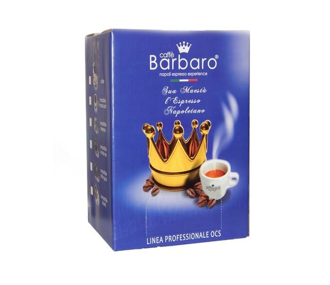 Caffe Barbaro Espresso Cremoso compatibile Bialetti Cartone 100 Capsule in astucci da 5