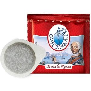 50 Cialde Caffè BORBONE Miscela Rossa Filtro Carta ESE 44 mm