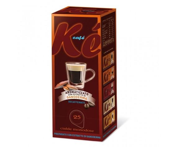 Cialde Molinari decaffeinato n aromatizzate estratto di ganoderma