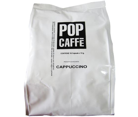POP CAFFE CAPSULE E- GUSTO  CAPPUCCINO  COMPATIBILI NESCAFE' DOLCE GUSTO 16 PZ.