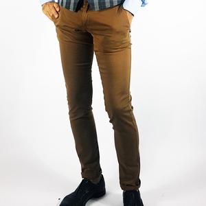 Pantalone cotone chinos Coccio