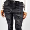 09 jeans nero strass