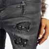 09 jeans nero strass2