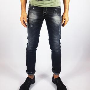 Jeans nero stone wash Nero
