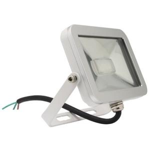 Faretto Proiettore a LED Slim 10W 3200K (luce calda) IP65 (da esterno) ad Alta Luminosità