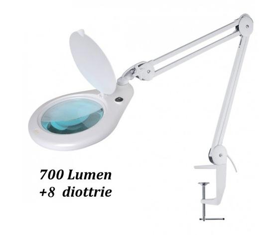 LENTE D'INGRANDIMENTO 8 DIOTTRIE CON LAMPADA LED