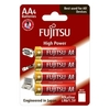 Blister 4 batterie alcaline aa fujitsu high power lr06 %284b%29fh
