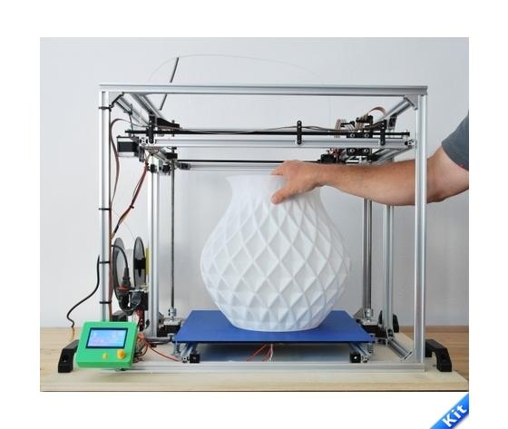 Stampante 3D 40x40x40 cm 3D4040 in KIT
