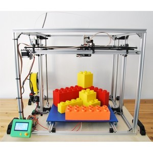 Stampante 3D 40x40x40 cm 3D4040 in KIT 3