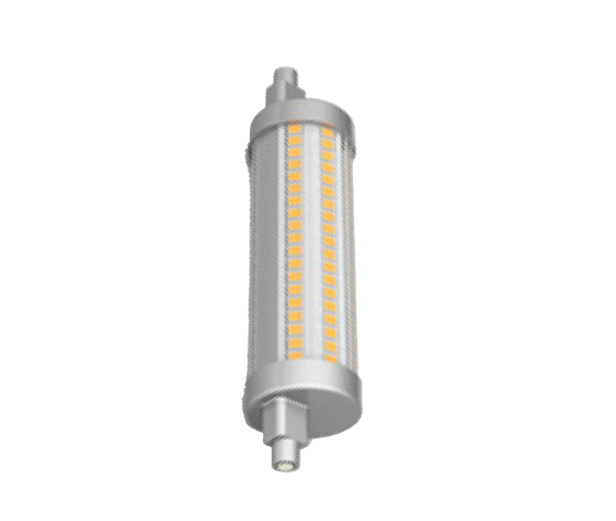 LAMPADINA LED LINEARE 15W (EQUIVALENTE 150W) DIMMERABILE - REGOLABILE LUCE CALDA R7S BOT LIGHTING SHOT AIRAM