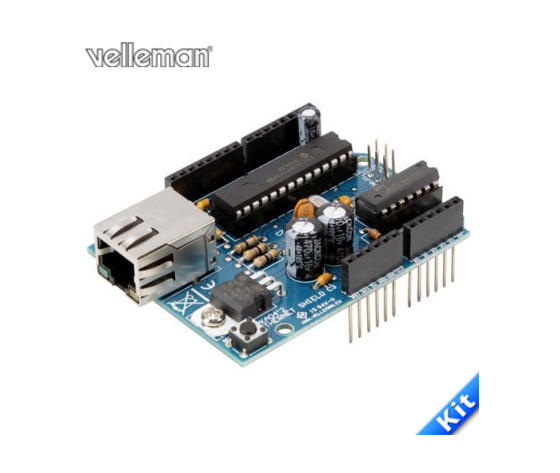 Ethernet shield per Arduino - in kit da saldare 8229-KA04