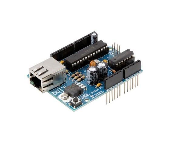 Ethernet shield per Arduino - Già Montata 8220-VMA04