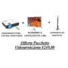 Offerta promo pacchetto bundle videopriezione %28staffa soffitto   schermo   videoproiettore led%29