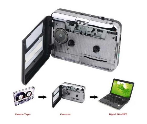 CONVERTITORE DA MUSICASSETTA A MP3 E WALKMAN