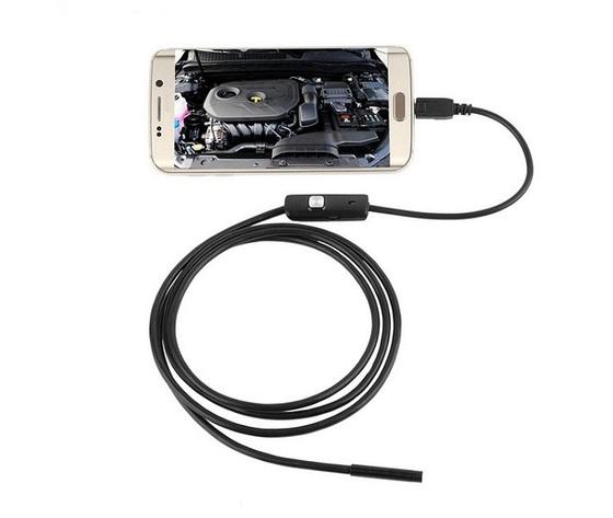 Snake Camera per Android e PC con LED ad intensità regolabile