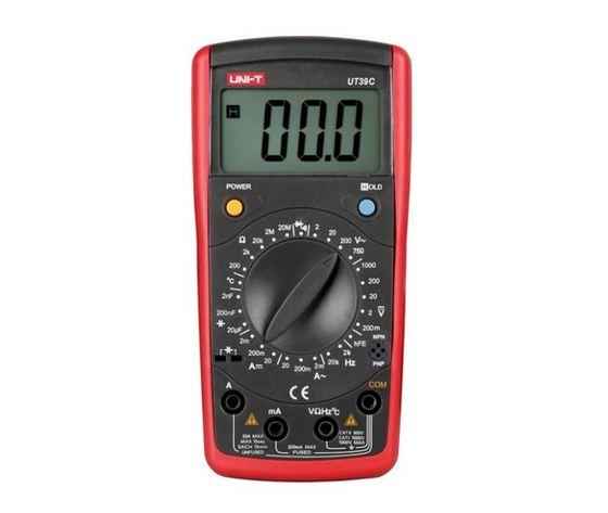 Multimetro Digitale con misura di Temperatura/Capacità/Frequenza/Transistor