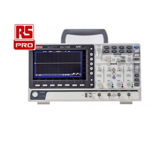Oscilloscopio RS PRO 4 canali 100 MHz