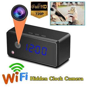 Orologio - Sveglia WI-FI CON TELECAMERA NASCOSTA E DVR INTEGRATO PER VIDEOSORVEGLIANZA 8100-FR738