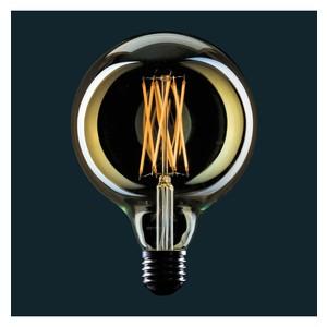 LAMPADINA VINTAGE LED GLOBO FILAMENTO GABBIA - LIGHT BULB GLOBE CAGE DIMMERABILE G125