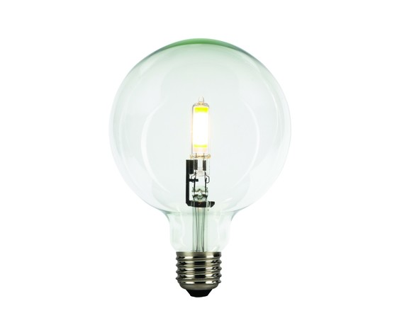 LAMPADINA VINTAGE LED FILAMENTO CUB VETRO TRASPARENTE - LIGHT BULB GLOBE CUB DIMMERABILE G125