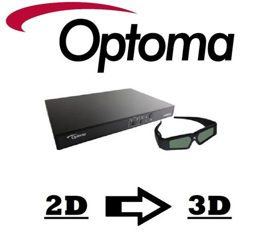 Convertitore 3d per videoproiettori optoma 3DXL M-558000206