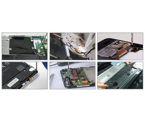 Set tool riparazione per smartphoneorologi, tablet, strumenti ottici, macchine fotografiche, computer, videoregistratori, telefoni,