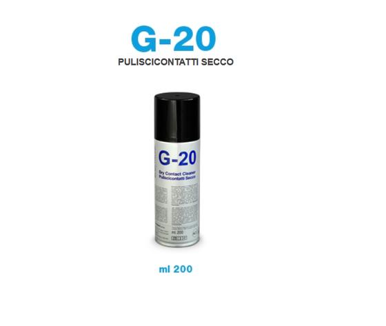 PULISCICONTATTI SECCO BOMBOLETTA SPRAY 200 ML G-20