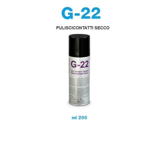 PULISCICONTATTI SECCO BOMBOLETTA SPRAY 200 ML G22