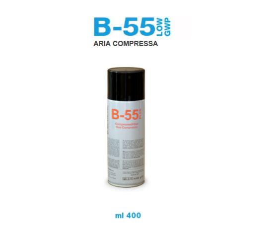 ARIA COMPRESSA BOMBOLETTA SPRAY 400 ML B55