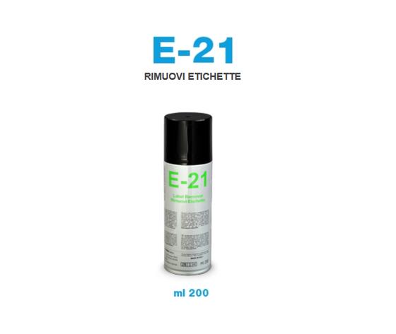 RIMUOVI ETICHETTE BOMBOLETTA SPRAY E21