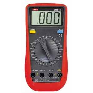 Multimetro digitale manuale ac/dc con temperatura uni-t UT-151C