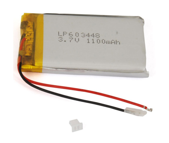 Batteria ricaricabile ai polimeri di litio 3,7V 1100mAh
