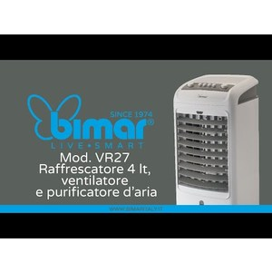 Raffrescatore, Purificatore, Ventilatore Multifunzione VR27 BIMAR