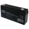 Batteria al piombo tampone accumulatore ricaricabile 6v 3 2 ah terminale faston 4 8mm