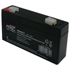 Batteria al piombo tampone accumulatore ricaricabile 6v 1 2 ah terminale faston 4 8mm %281%29