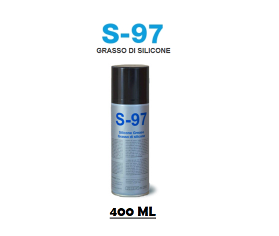 GRASSO DI SILICONE BOMBOLETTA SPRAY 400 ML S97