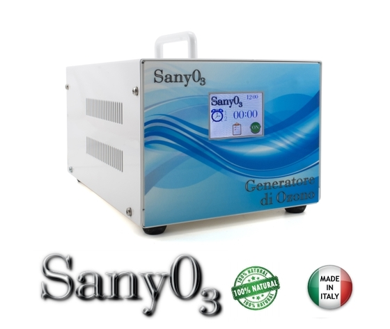 SanyO³ generatore professionale di ozono