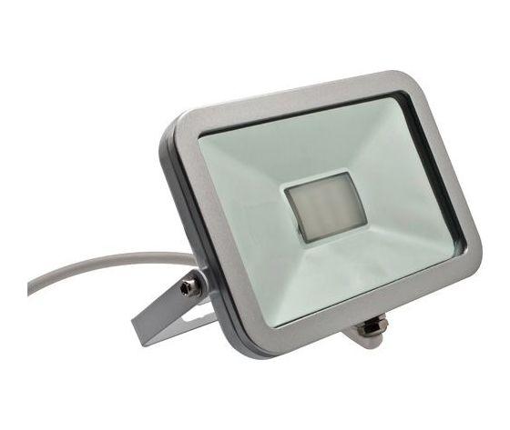 Faretto Proiettore a LED Slim 30W 3200K (luce calda) IP65 (da esterno) ad Alta Luminosità