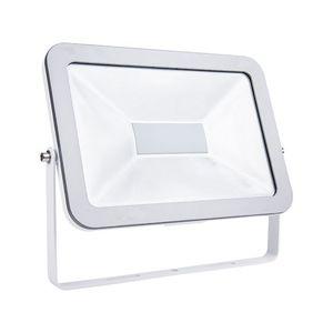 Faretto Proiettore a LED Slim 100W 3200K (luce calda) IP65 (da esterno) ad Alta Luminosità