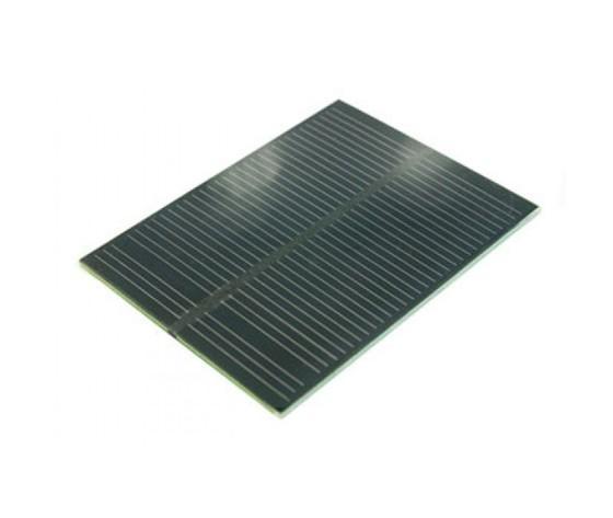 Pannellino solare da 5,5 V 1 watt