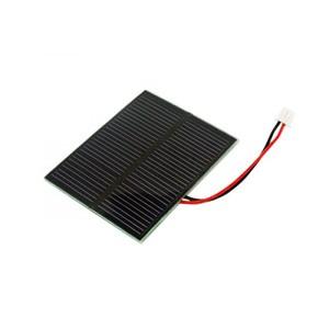 Pannellino solare da 5,5 V 0,5 watt