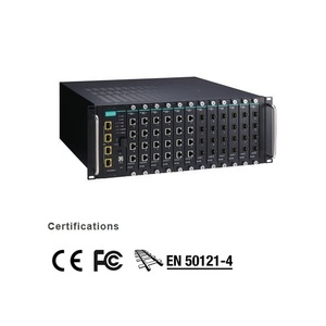 RACKMOUNT SWITCHES - ICS-G7852A-4XG-HV-HV - MOXA - 48G+4 10GBE-PORT LAYER 3 FULL GIGABIT MODULAR MANAGED ETHERNET SWITCHES