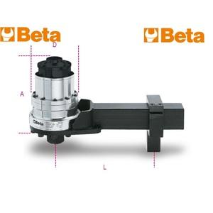 MOLTIPLICATORE di coppia destrorsosinistrorso rapporto 1:125 con dispositivo antiritorno - NM60004R 567/4R - BETA UTENSILI
