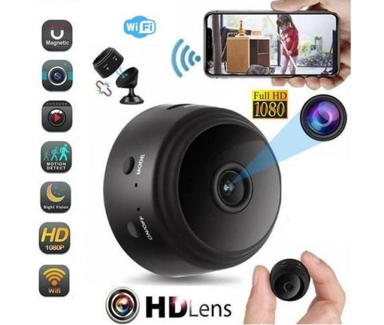 Mini telecamera spia Wi-Fi Full HD - 150°