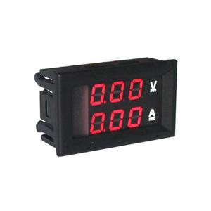 Voltmetro Amperometro da pannello - 100V 10A