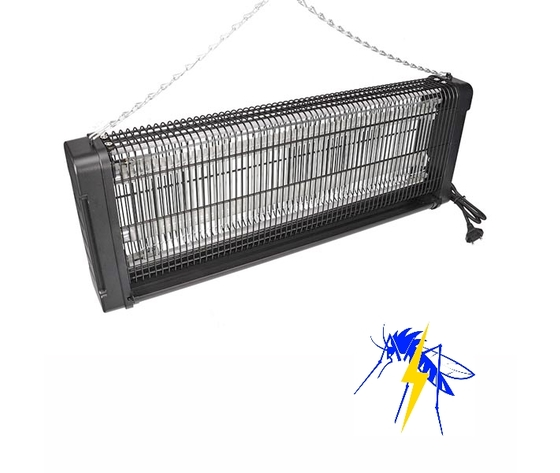 LAMPADA ELIMINA INSETTI 2 x 20 WATT