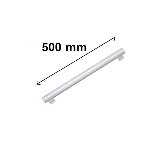 LINESTRA LED 2 ATTACCHI 500 MM 8W LUCE CALDA ATTACCO S14S SOSTITUTO 40 W TRADIZIONALE